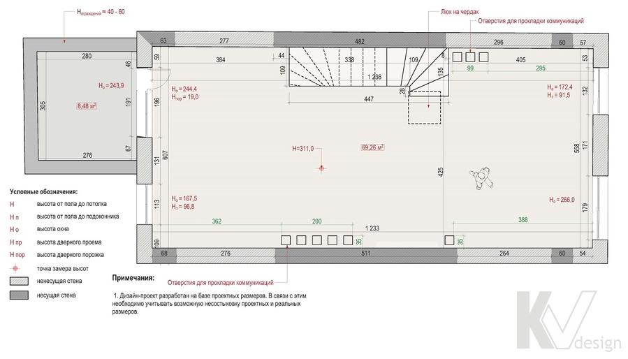 Планировка 2-го этажа, Южная Долина