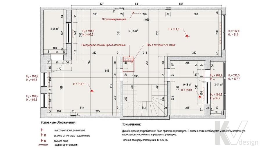 Таунхаус в п. Павлово, планировка мансарды