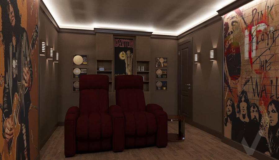 Дизайн комнаты отдыха в квартире П-44Т, Переделкино Ближнее - 3