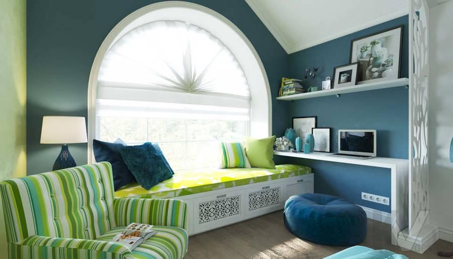 Дизайн спальни в коттедже, КП «Vita Verde» - 6