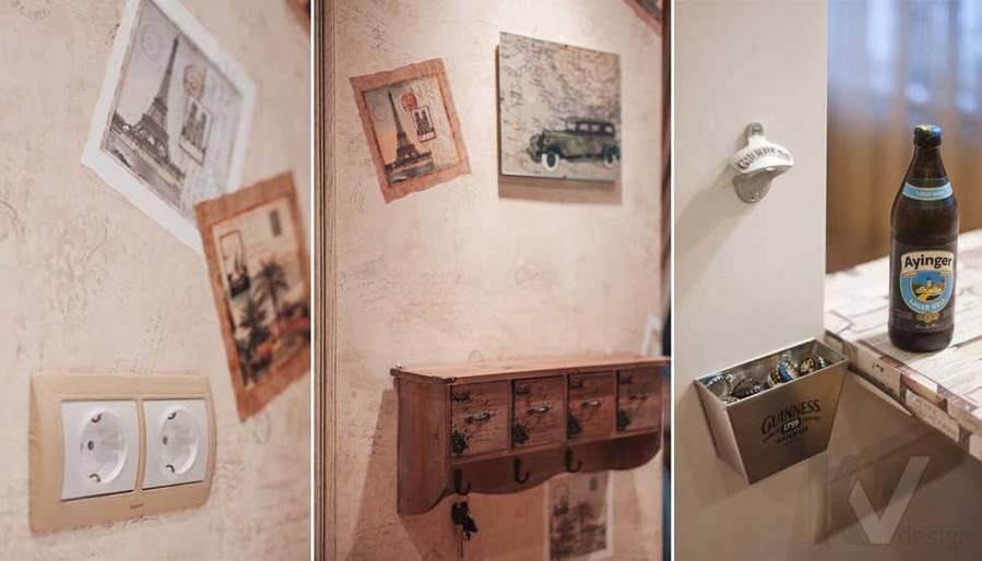 детали интерьера однокомнатной квартиры - фото 1