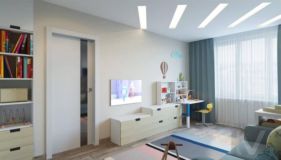 дизайн детской в 3-комнатной квартире, Welton Park - 2