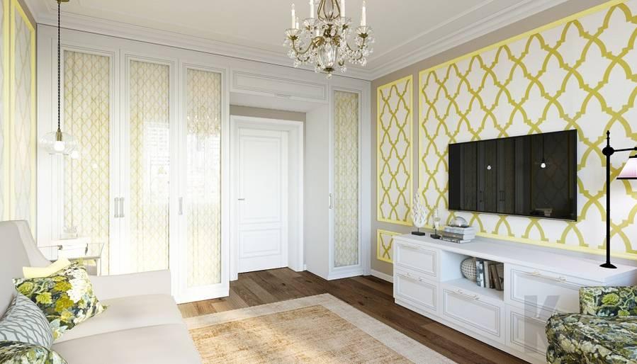 Дизайн гостевой комнаты в квартире на м. Смоленская - 3