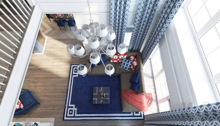 Дизайн кабинета в коттедже, КП «Vita Verde» - 5
