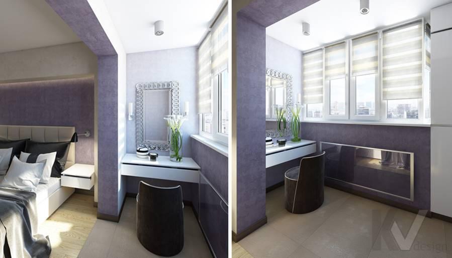 дизайн спальни в 3-комнатной квартире П-44Т, Речной вокзал - 5