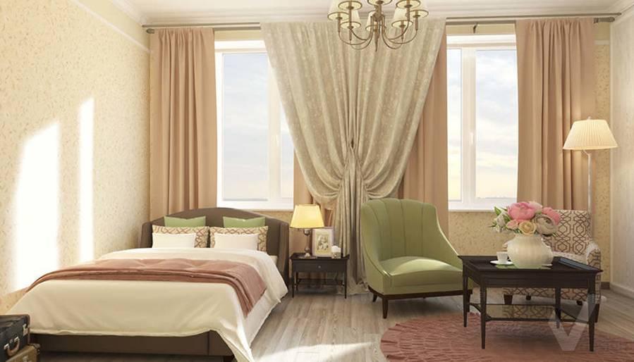 дизайн комнаты бабушки в 3-комнатной квартире, Троицк - 1
