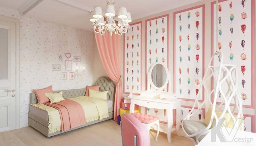 Детская комната в квартире в ЖК Union Park - 1