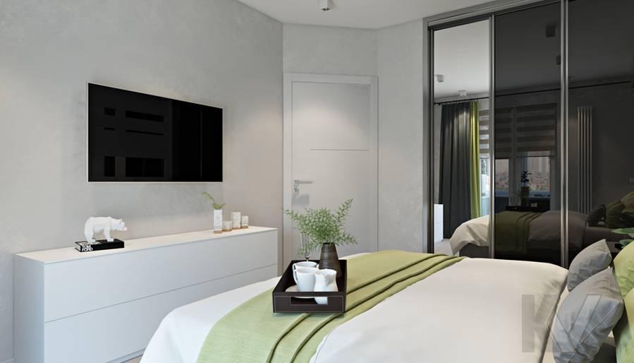Спальня в 3-комнатной квартире И-155, Красногорск - 3
