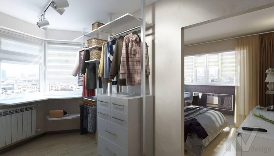 дизайн гардеробной в 3-комнатной квартире П-44Т, Речной вокзал - 2