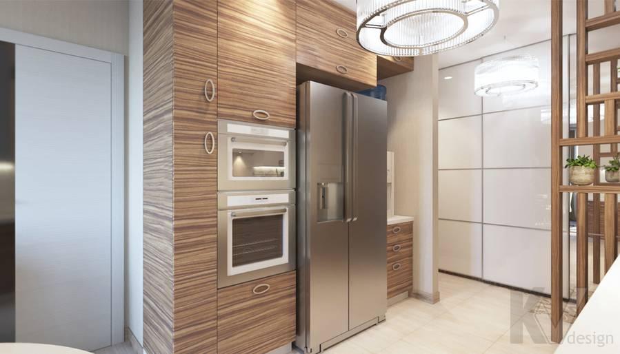 дизайн кухни в 3-комнатной квартире, Welton Park - 2