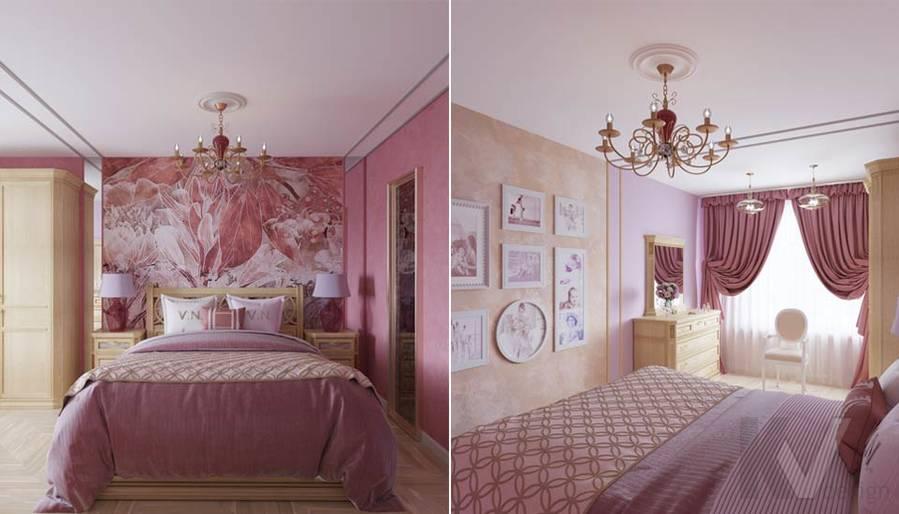 Дизайн спальни в ЖК Летний Сад - 4
