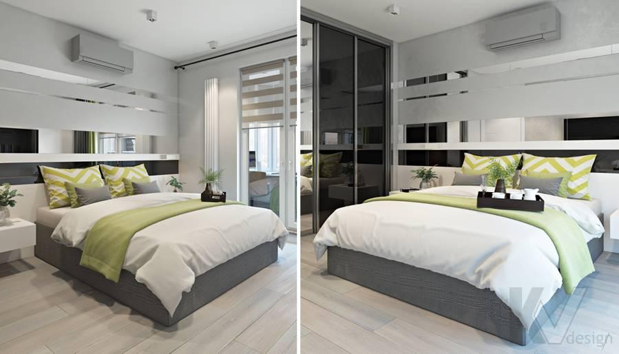 Спальня в 3-комнатной квартире И-155, Красногорск - 5