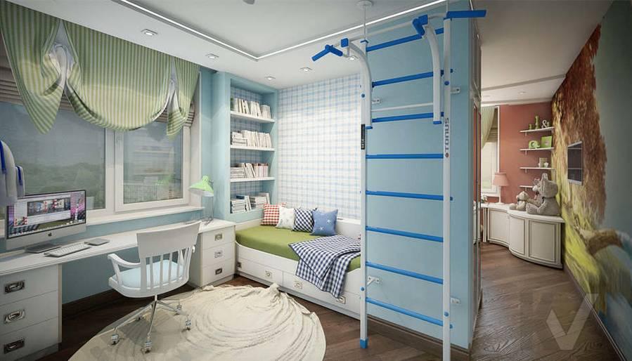 дизайн детской комнаты мальчика, Одинцово - 1