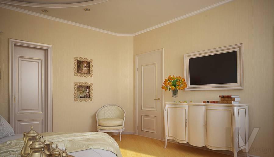 Дизайн квартиры на м. Смоленская, ванная - 1