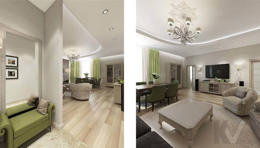 """Дизайн прихожей в 2-комнатной квартире, ЖК """"Авеню 77"""" - 2"""