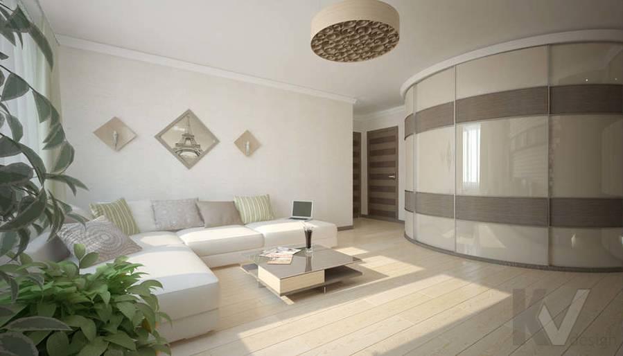 Дизайн гостиной - 1, Солнцево Парк
