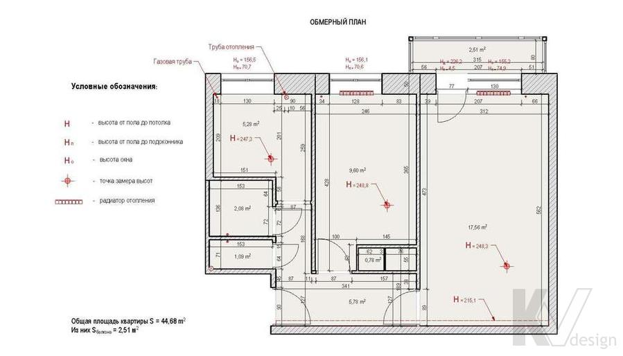 Дизайн квартиры на м. Речной вокзал, план