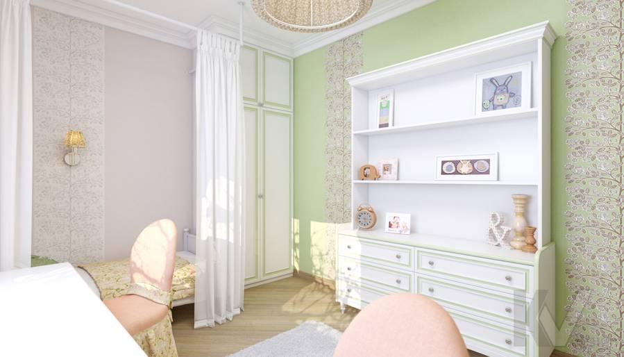 Детская в 4-комнатной квартире, м. Киевская - 4