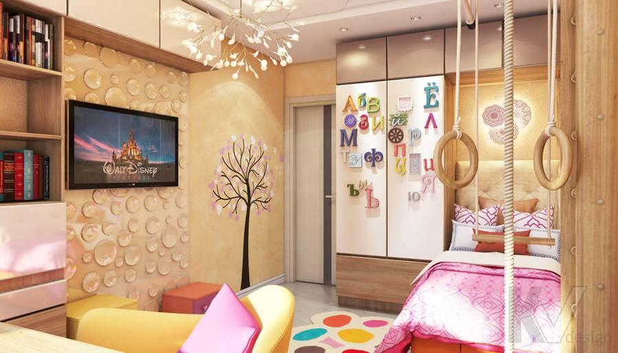 Дизайн детской в 2-комнатной квартире - 4