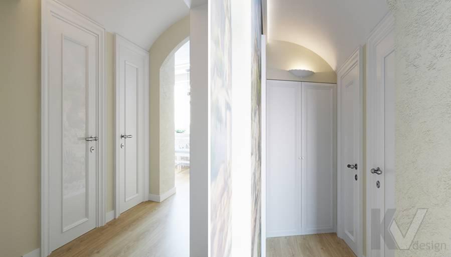 Дизайн коридора в квартире в Крылатском