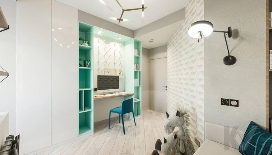Детская комната в 3-комнатной квартире П-44Т, Медведково - 3