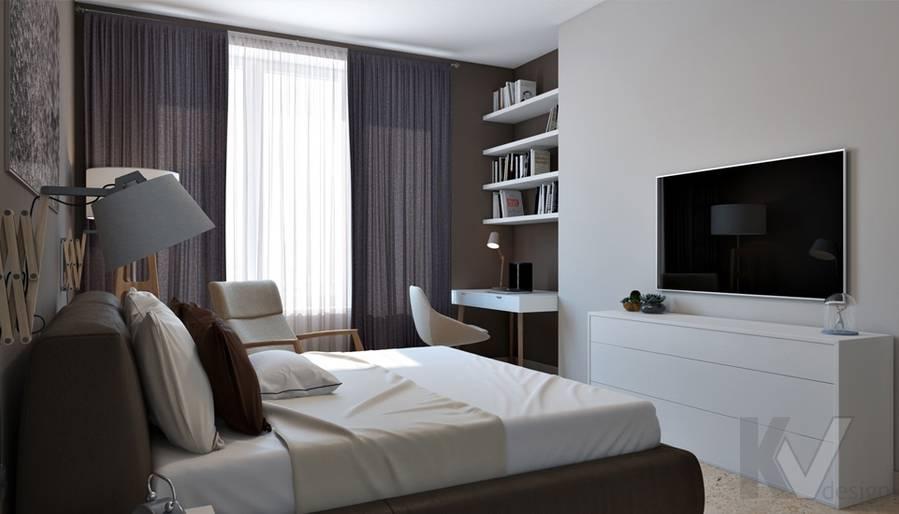 """Спальня в 4-комнатной квартире, ЖК """"Фили Град"""" - 2"""