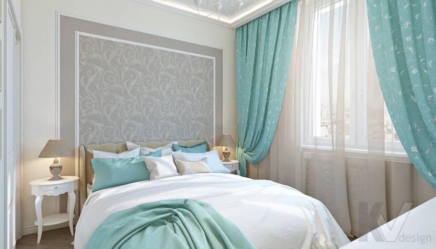 дизайн спальни в 3-комнатной сталинке, ВДНХ - 1