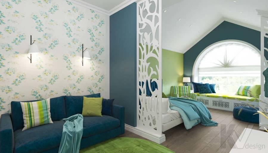 Дизайн спальни в коттедже, КП «Vita Verde» - 1