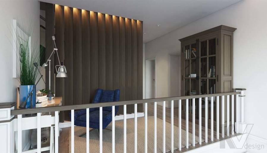 Дизайн кабинета в коттедже, КП «Vita Verde» - 2