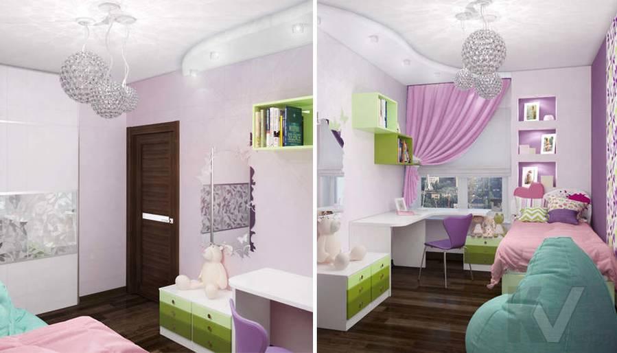 Дизайн детской в 2-комнатной квартире, Мытищи - 2