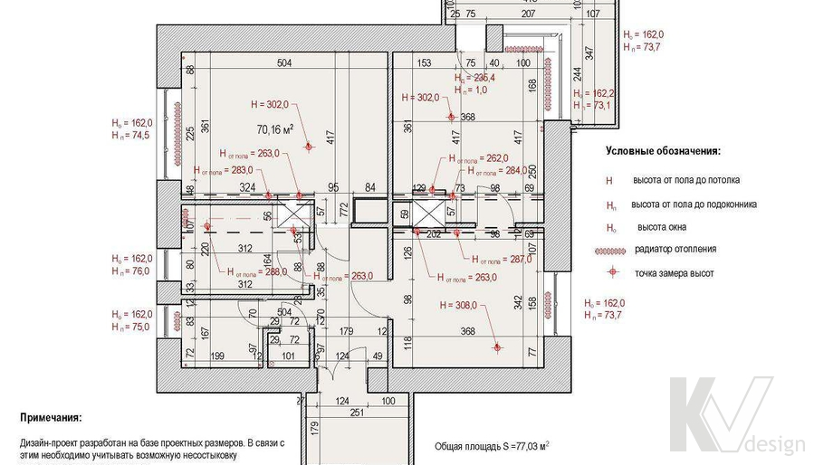 Планировка квартиры на Старом Арбате