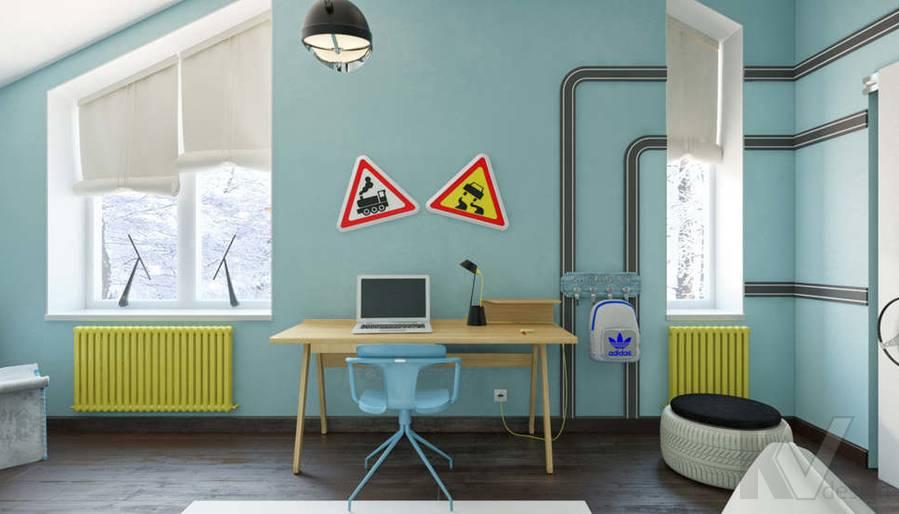 Дизайн комнаты мальчика в доме, КП Пестово - 7