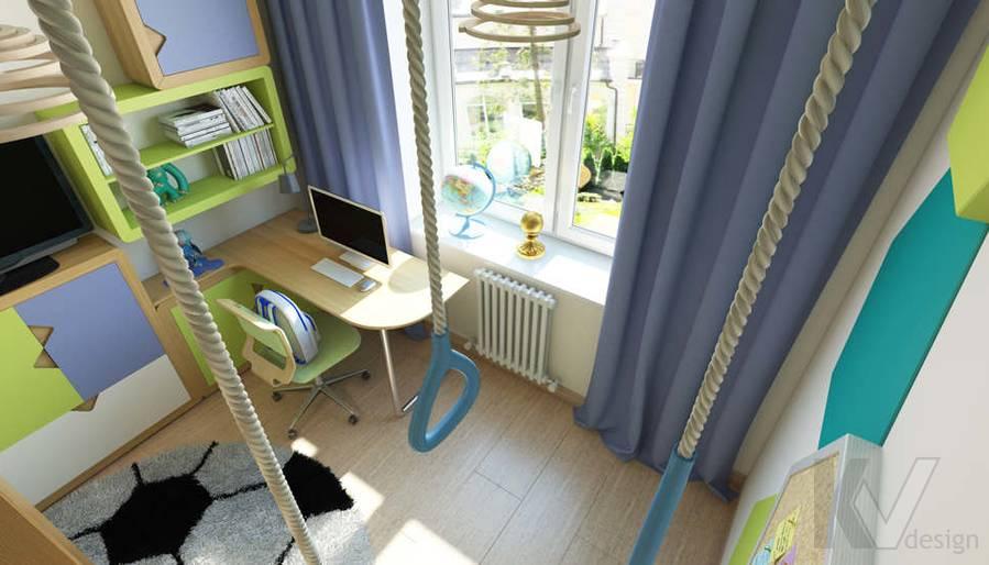 дизайн детской в 3-комнатной квартире, Новая Москва - 5
