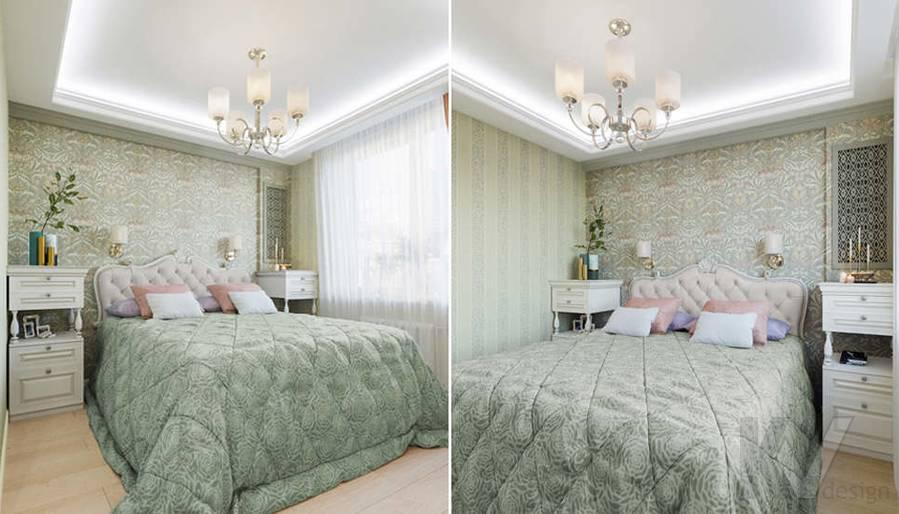 Спальня в квартире в ЖК Union Park - 1