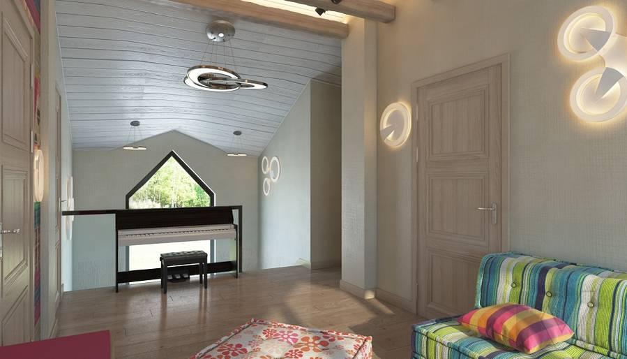 Дизайн игровой комнаты в трехэтажном доме - 6