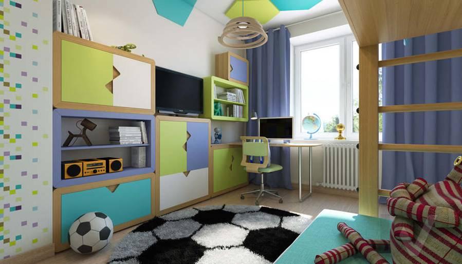 дизайн детской в 3-комнатной квартире, Новая Москва - 6