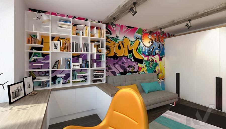 Дизайн комнаты мальчика в 5-комнатной квартире, Климовск - 3