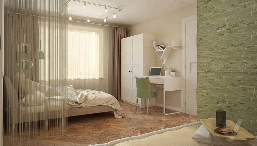 Дизайн квартиры-студии, Коломенская - 3