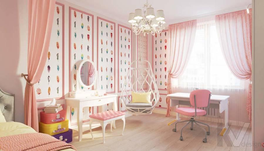 Детская комната в квартире в ЖК Union Park - 2