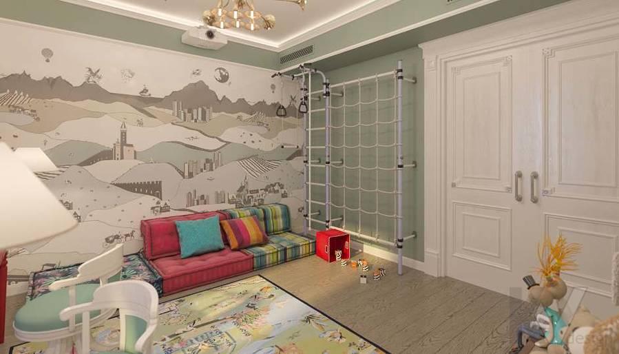 Дизайн игровой комнаты в доме, КП «Парк Авеню» - 4