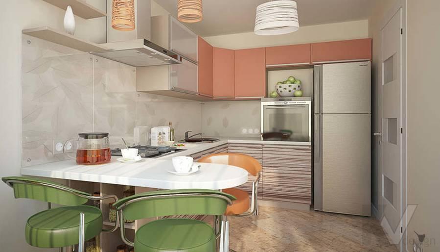 Дизайн квартиры-студии, Коломенская - 6