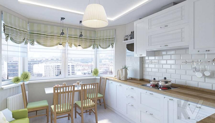 Дизайн кухни в 2-комнатной квартире П-44Т, Московский - 2