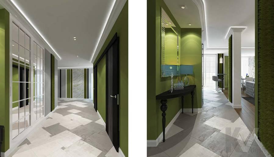 Дизайн прихожей в 5-комнатной квартире, Климовск - 2