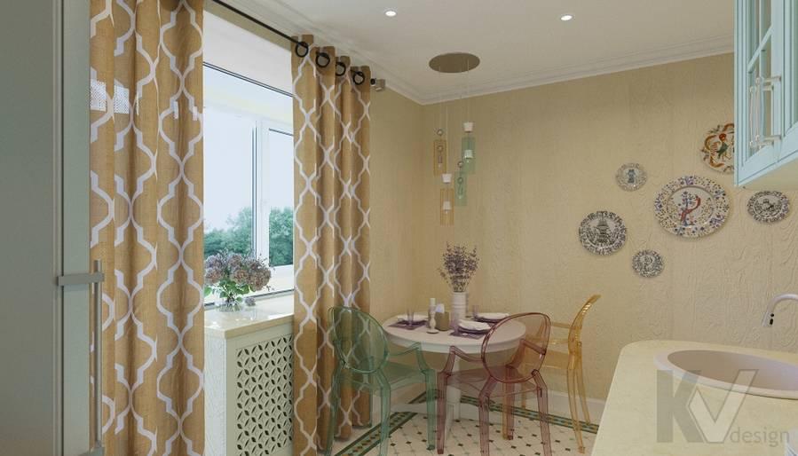 Дизайн кухни в квартире на м. Смоленская - 5