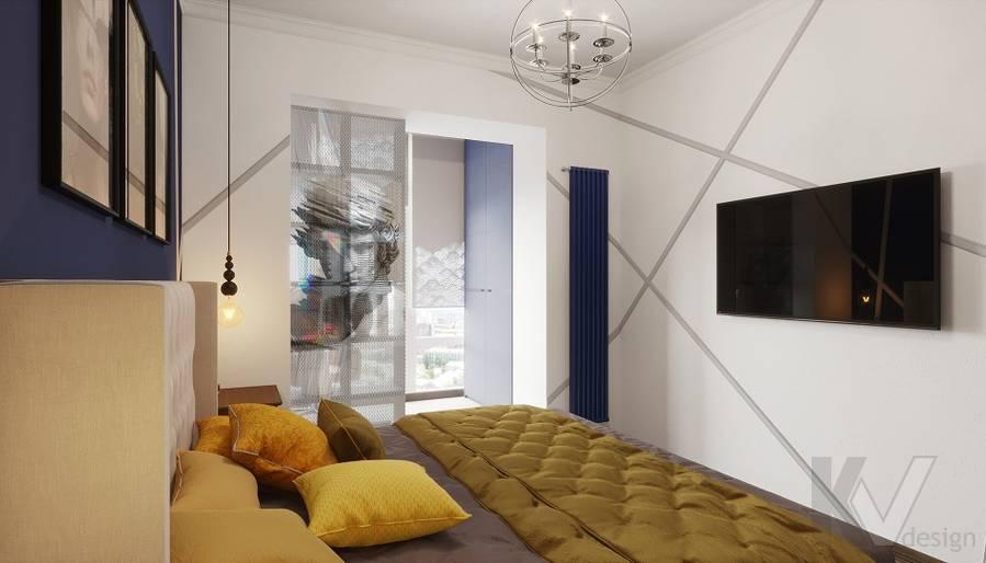 Дизайн спальни в ЖК «На Циолковского» - 2