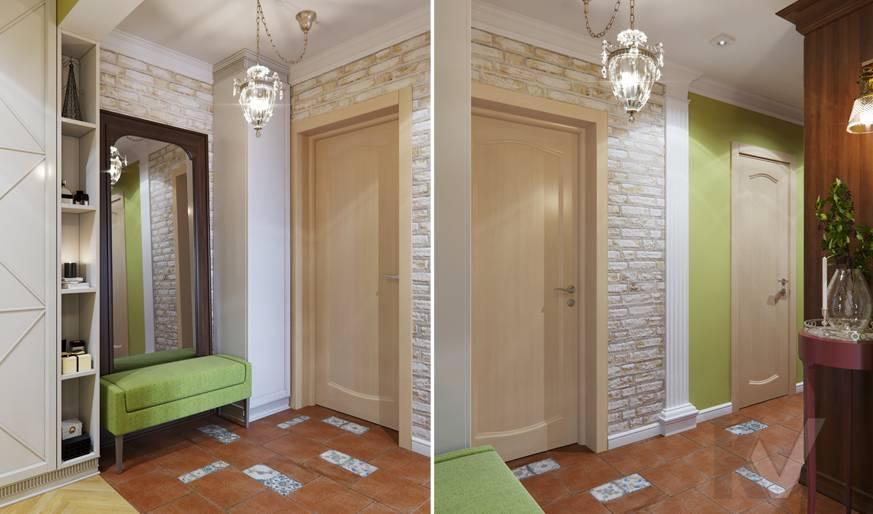 Дизайн прихожей в квартире серии П-3, Ясенево - 5