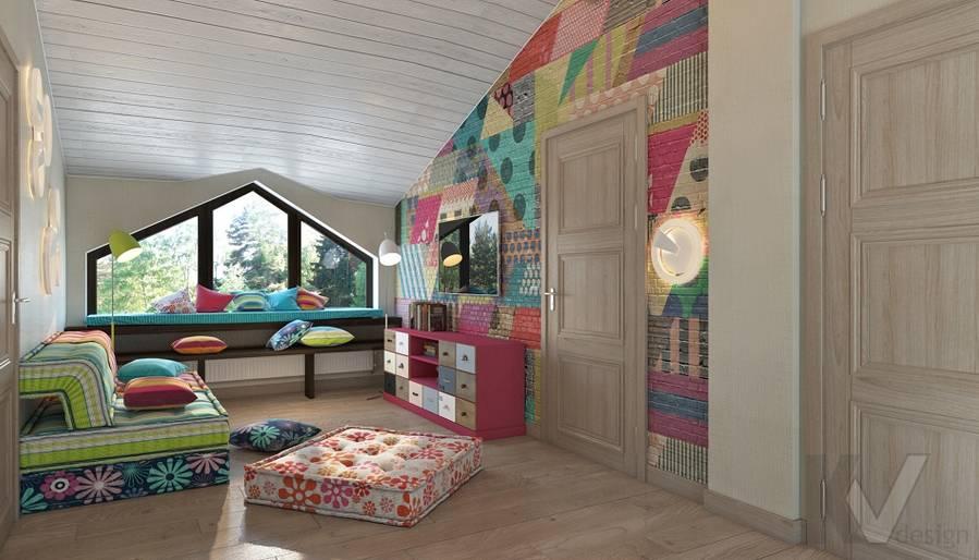 Дизайн игровой комнаты в трехэтажном доме - 3