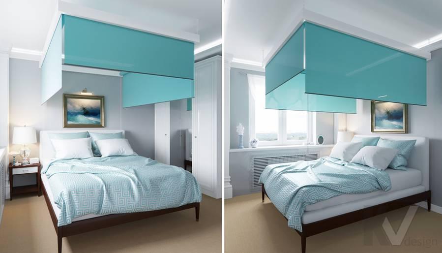 Дизайн спальни в квартире в Крылатском - 1