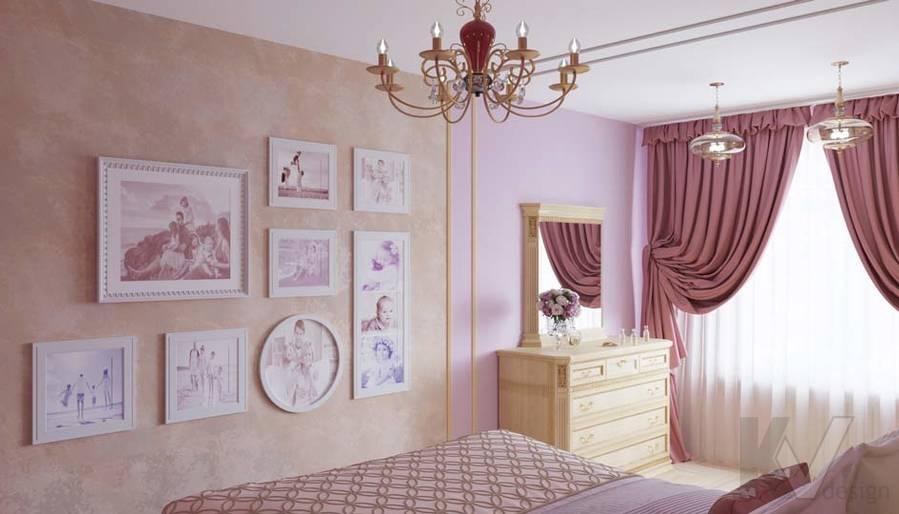 Дизайн спальни в ЖК Летний Сад - 2