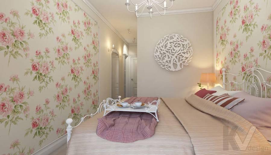 дизайн спальни в 3-комнатной квартире, Новая Москва - 3
